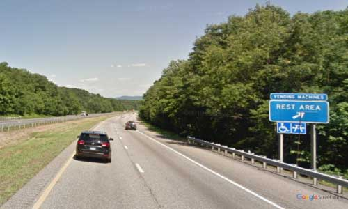 va interstate64 i64 virginia charlottesville rest area eastbound mile marker 105 entrance