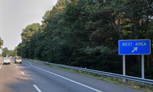 va interstate64 i64 virginia goochland rest area eastbound mile marker 169 entrance
