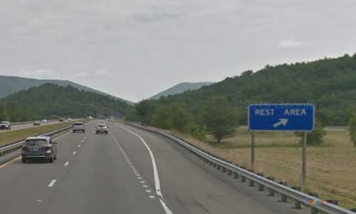 va interstate77 i77 virginia rocky gap rest area northbound mile marker 59 entrance
