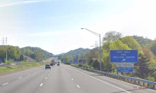 va interstate81 i81 virginia bristol welcome center-northbound mile marker 1 entrance
