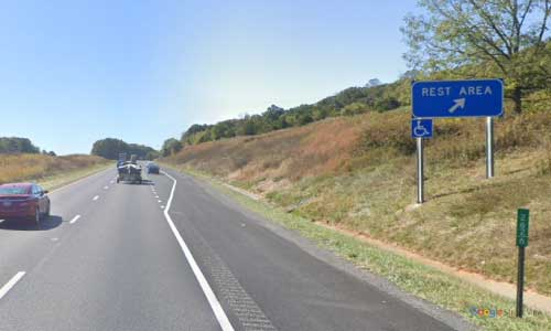 va interstate81 i81 virginia new market rest area southbound mile marker 262 entrance