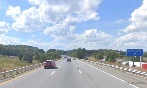 va interstate81 i81 virginia radford rest area southbound mile marker 108 entrance