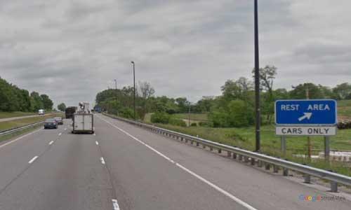 va interstate81 i81 virginia rural retreat rest area northbound mile marker 61 entrance