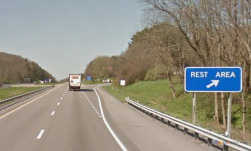 va interstate81 i81 virginia smyth rest area southbound mile marker 53 entrance