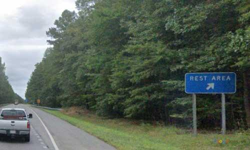 va interstate85 i85 virginia dinwiddie rest area northbound mile marker 55 entrance