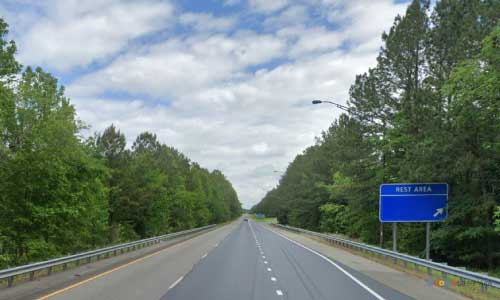 va interstate95 i95 virginia carson rest area northbound mile marker 37 entrance