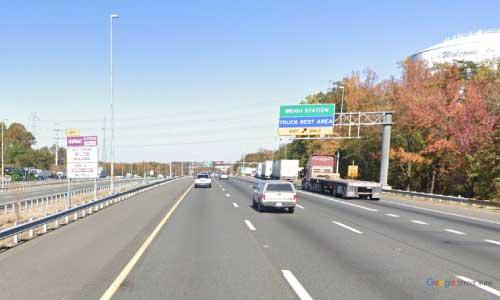 va interstate95 i95 virginia dale city truck only rest area northbound mile marker 152 entrance