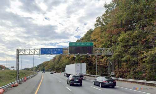 va interstate95 i95 virginia dale city truck only rest area southbound mile marker 152 entrance