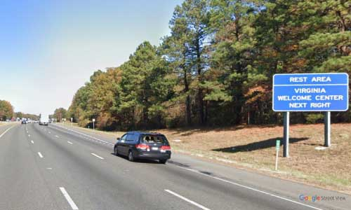 va interstate95 i95 virginia northern virginia gateway welcome center mile marker 107 entrance